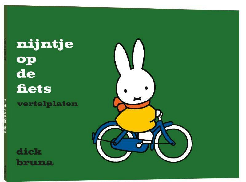 Vertelplaten, nijntje op de fiets - Dick Bruna