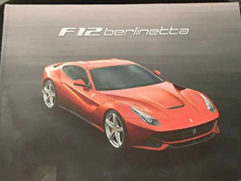 Authentic Ferrari F12 Berlinetta Hard Cover Brochure -