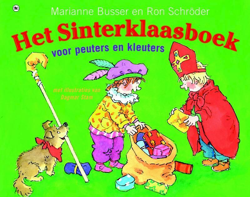 Het Sinterklaasboek voor peuters en kleuters - Marianne Busser, Ron Schroder