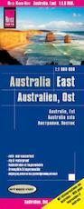 Reise Know-How Landkarte Australien, Ost / Australia, East (1:1.800.000) (ISBN 9783831773381)